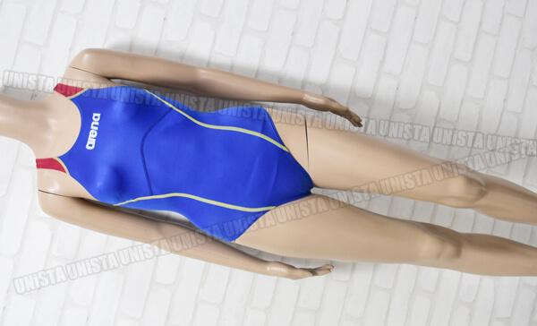 ARENA-アリーナ-ARN-8504W-Shin_rev-シンレボ-ニューリミック-LASCLE-女子競泳水着-ブルー・レッド