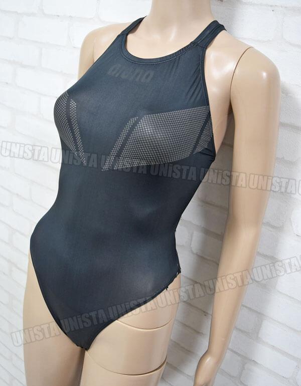 ARENA アリーナ ARN-0002 X-FLAT エックスフラット 女子競泳水着 ブラック2