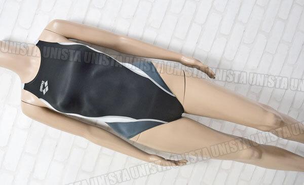 ARENA アリーナ ARN-7014WL NUX/NUX-D 女子競泳水着 ブラック・グレー