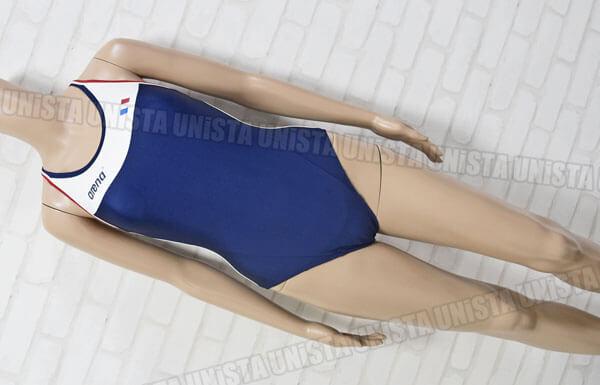 ARENA アリーナ FSA-3613W フランス国旗 女子競泳水着 ネイビー