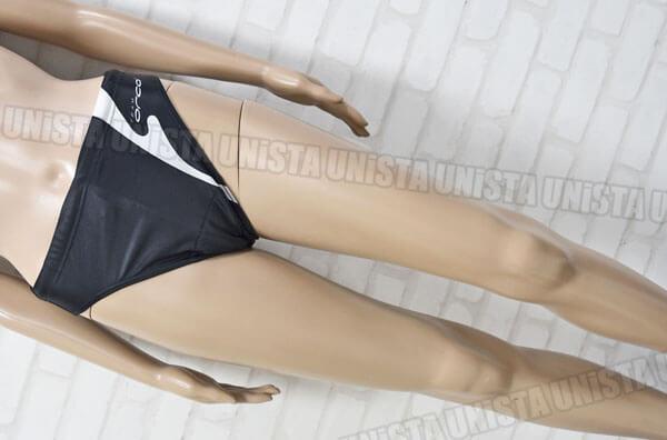 ORCA オルカ 女子トライアスロン ハイレグレーシングブルマ ブラック・ホワイト