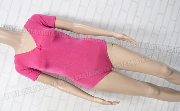 SASAKIササキスポーツ女子バレエ体操競技フロントギャザー半袖レオタード
