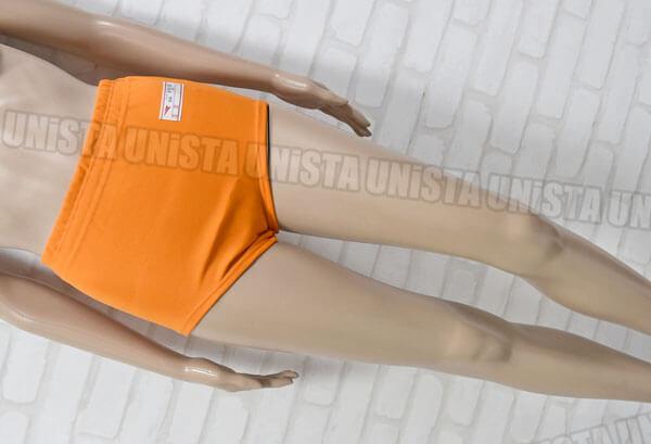レッドスワロー NR-380 学校指定女子スポーツニットショーツ・スポーツブルマ テイジンテトロン使用 オレンジ