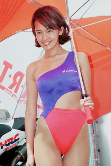 1996' ホンダ HART レディ(Honda Active Riders Terminal)RQコスチューム 川島美代子さん着用品