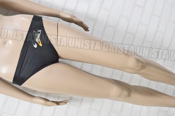 ASICS アシックス AMA403 初期ロゴ HYDRO SP ブーメラン水着・男子競泳水着 ブラック