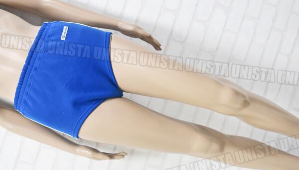 GREENS グリンズ 女子スポーツニットショーツ・スポーツブルマ 2本ライン ブルー