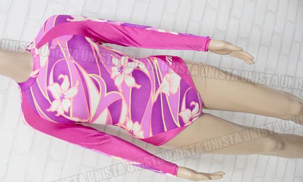 MIZUNO ミズノ 女子体操競技用レオタード ピンク