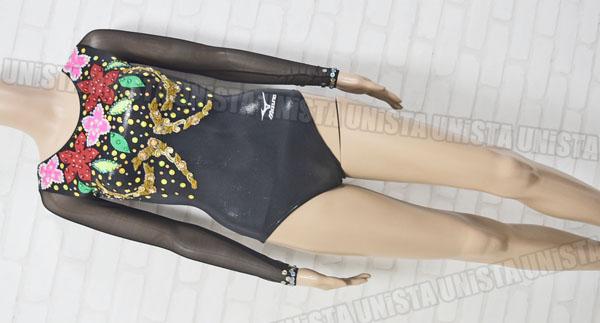MIZUNO ミズノ 女子体操競技用レオタード ブラック