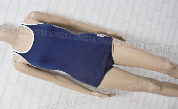 MIZUNO ミズノ メルマン 日本水泳連盟認定 旧型スクール水着・女子ワンピース水着 ネイビー