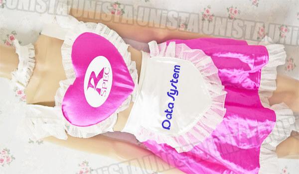 2003年 東京オートサロン R-Spec girls (データシステム社)レースクイーン衣装 桜井夕香さん着用品 メイド風衣装