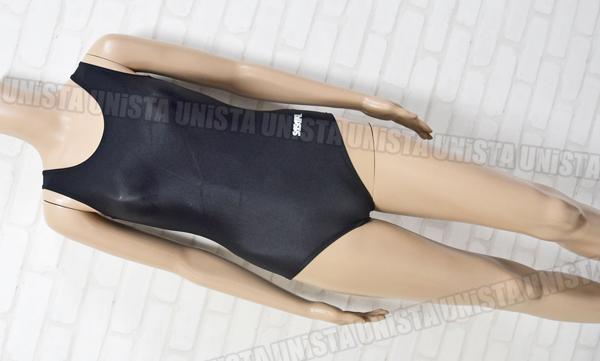 SASAKI ササキスポーツ NO.7012 女子体操競技 Uネックノースリーブレオタード 無地 ブラック