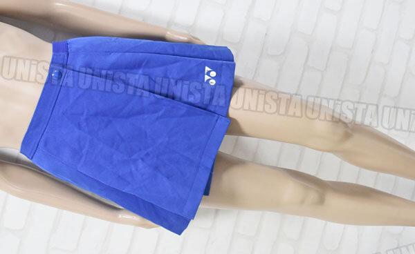 YONEX ヨネックス M114 女子テニス 巻きスカート・巻きスコート ブルー