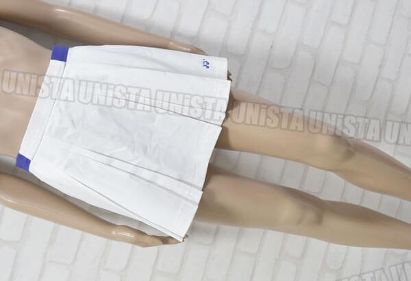 YONEX ヨネックス 女子テニス スカート型 スコート ホワイト・パープル