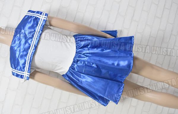 NON セーラームーン コスプレ衣装 COSPATIO縞パン付属 ブルー・ホワイト