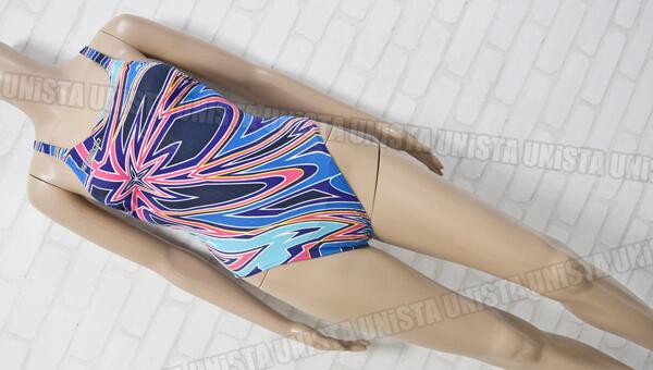 SPEEDO スピード AQUABLADE-Σ アクアブレードシグマ 女子競泳水着 ネイビー