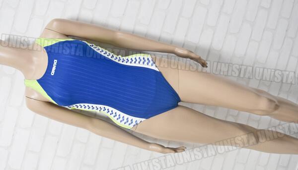 ARENA アリーナ STRUSH ストラッシュ 女子競泳水着 ブルー・グリーン