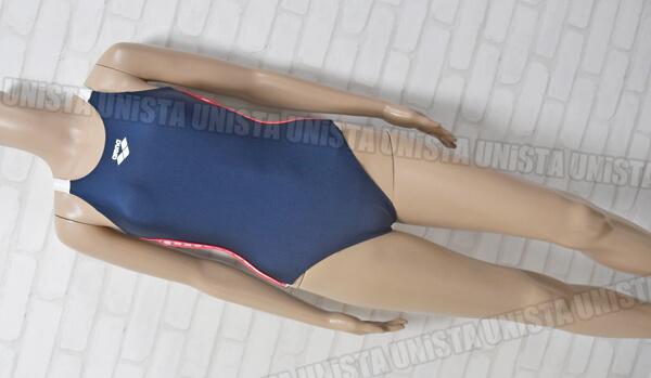 ARENA アリーナ ARN-2020W グレコバック型ワンピース水着・女子競泳水着 ネイビー