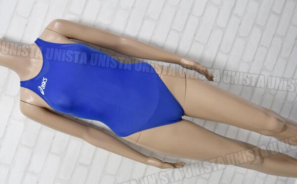 ASICS アシックス ALS642 P2 D-STICKER(D-ステッカー) FINALIST LINE(スパイラルカット2) 女子競泳水着