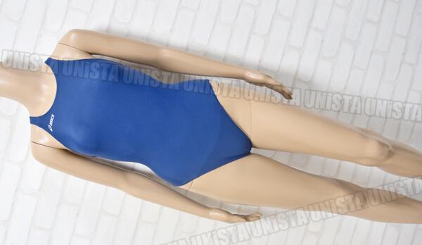 ASICS アシックス ALS723 2WAY‐H2 ウィメンズ レギュラー 女子競泳水着 ネイビー