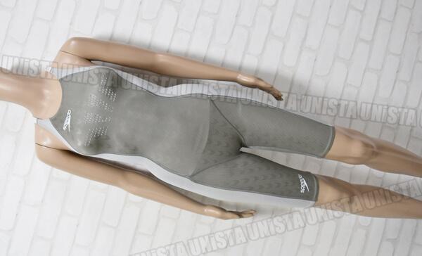SPEEDO スピード FASTSKIN-FS2 ファーストスキンFS2 Voltex Controller 女子競泳水着 グレー mizuno製