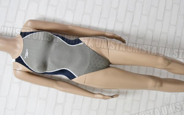 SPEEDO スピード SD48A02 FASTSKIN FS2+ ファーストスキンFS2+ レースカットスーツ 女子競泳水着 グレー