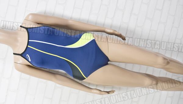 ASICS アシックス ASL804 FOR COMPE EVOCHARGE マイティカット リピーテクスⅡ女子競泳水着 ネイビー