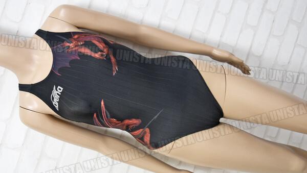 ARENA アリーナ ARN-3026W TYPE-F ハイカット女子競泳水着 ブラック