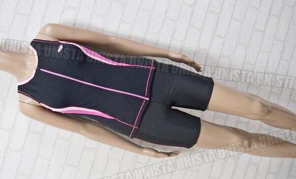 定価10,395円 ARENA アリーナ LAR-3243W SaLaKaLa サラカラ イージーフィット フィットネス水着 ブラック・ピンク