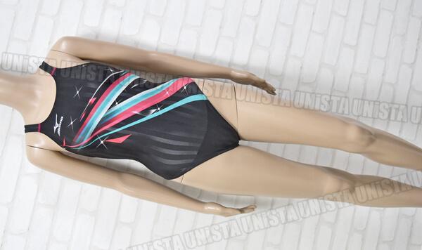 MIZUNO ミズノ N2MA623096 Stream Aqucela ストリームアクセラ 寺川綾コレクション FINA女子競泳水着 ブラック