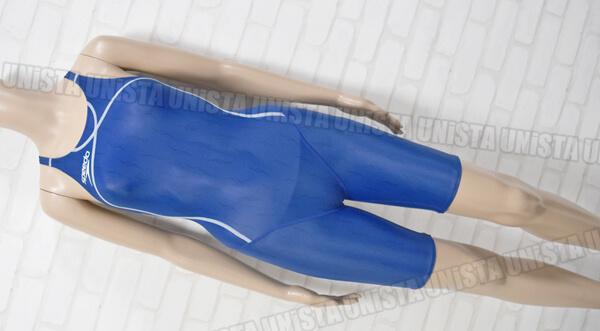 SPEEDO スピード SD40H52C flyingfish-2 フライングフィッシュ2 ハーフスパッツ 女子競泳水着 ブルー