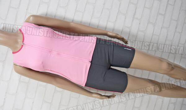 定価10,290円 SPEEDO スピード SD50Z17 COMFO FLEX フィットネス水着 ピンク・グレー