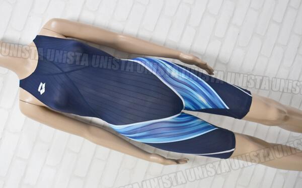 超レア 市場未発売 ARENA アリーナ ARN-3500W SPIRAL SUPER STRUSH J 北島康介アテネオリンピックモデル 女子競泳水着 ネイビー