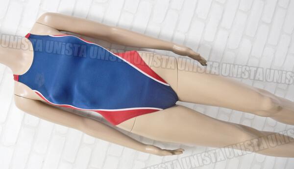 ARENA アリーナ ARN-5041W 初期NUX ニュークス RIMIC ハイカット 女子競泳水着 ネイビー・レッド