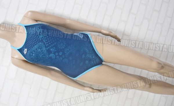 ARENA アリーナ FSA-2642W TOUGHSUIT SUPER FLY BACK 女子競泳水着 ネイビー・ブルー