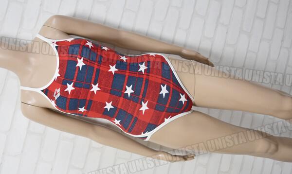 定価7,900円 ARENA アリーナ FSA-4611WJ TOUGHSUIT タフスキンD SUPER FLY BACK 女子競泳水着 レッド