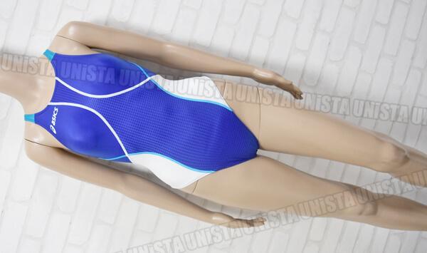 ASICS アシックス ALS344 HYDRO SP ハイドロSP ARROWAVE ホールドカットFINA女子競泳水着 ブルー