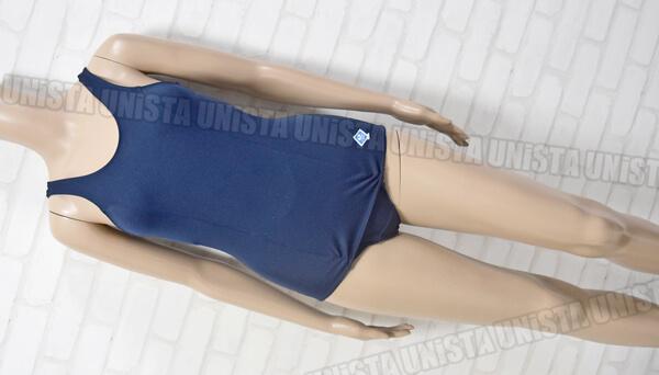 ASICS アシックス DEPORTEMATE デポルテメイト 旧型ワンピース水着・女子競泳水着 ネイビー