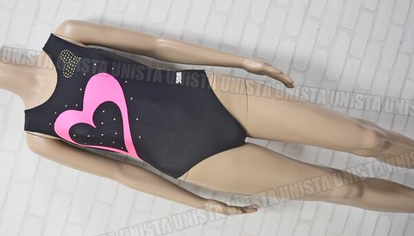 SASAKI ササキスポーツ 女子体操競技 ノースリーブレオタード ブラック