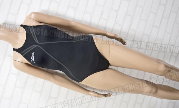 SPEEDO スピード SD42A05 FASTSKIN XT-W 360°FLEX Active Hybridレースカット FINA女子競泳水着 ブラック