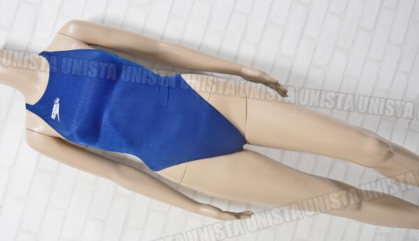 SPEEDO スピード SD43A01N AQUABLADE-Σ アクアブレードシグマ ハイカット 女子競泳水着 ネイビー