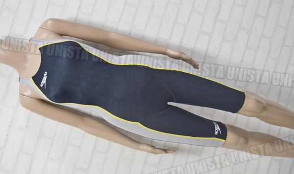 SPEEDO スピード SD43H02H FASTSKIN-FS2+ ファーストスキンFS2+ ハーフスパッツ女子競泳水着 ライトグレー