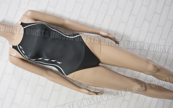 SPEEDO スピード SD48A11 flyingfish フライングフィッシュ レースカット 女子競泳水着 ブラック