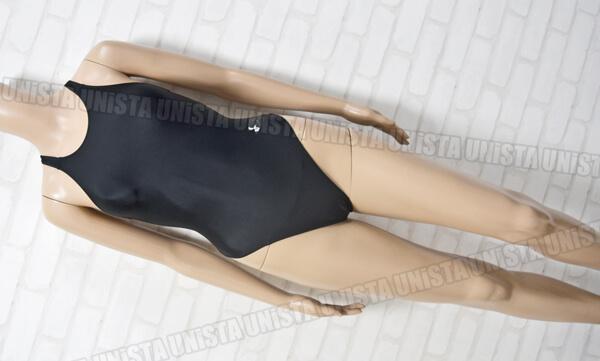 ARENA アリーナ ARN-7168W メダリストライン RIMIC ハイカット 女子競泳水着 ブラック