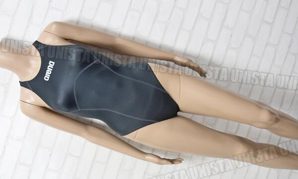 ARENA アリーナ ARN-8504W Shin_rev シンレボ ニューリミック LASCLE 女子競泳水着 グレー