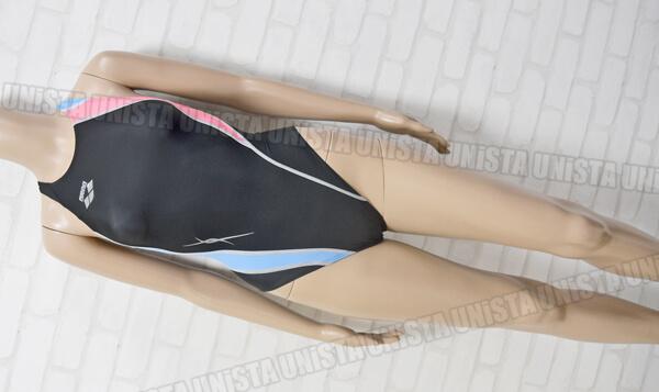 ARENA アリーナ FAR-8512WL NUX-W スイムテック21 女子競泳水着 ブラック・ピンク