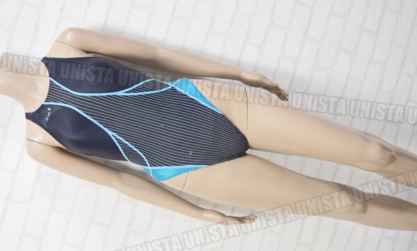 ASICS アシックス ALS330 TLINER TYPEZERO デュアフロー HYDRO SP 女子競泳水着 ネイビー・ブルー