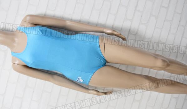 JPACE ワンピース水着・女子競泳水着 ライトブルー