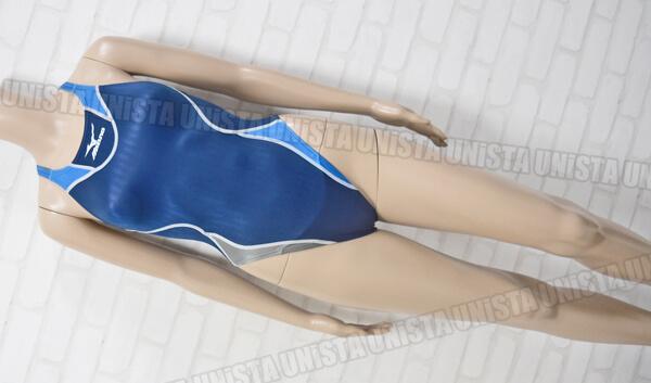 MIZUNO ミズノ 85OD-85282 Accel Suits WATER GENE アクセルスーツウォータージーン ハイカットWG 女子競泳水着 ネイビー