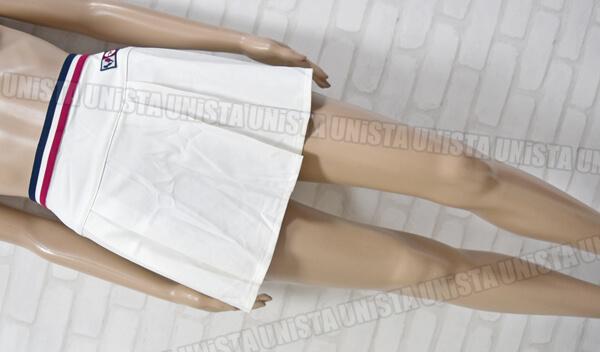 ROSSIGNOL ロシニョール BLCX-182 女子テニス プリーツスコート ホワイト