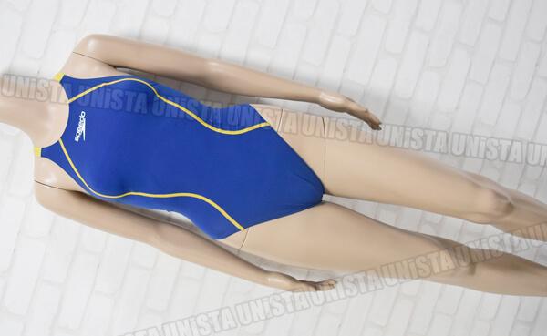 SPEEDO スピード SD48A01 FASTSKIN FS-PRO ハイカット女子競泳水着 ブルー